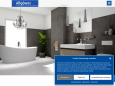 Screenshot der Domain allgoewer-sanitaer.de