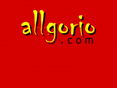 Screenshot der Domain allgorio.de