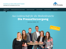 Screenshot der Domain allianz-baumgaertner.de