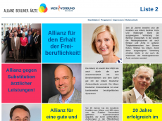 Screenshot der Domain allianz-berliner-aerzte.de