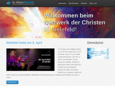 Screenshot der Domain allianz-bielefeld.de