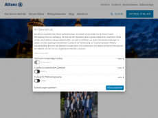 Screenshot von allianz-chemnitz.de