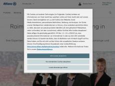 Screenshot der Domain allianz-franz.de