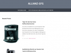 Screenshot der Domain allianz-gfg.de
