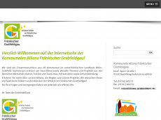 Screenshot der Domain allianz-grabfeldgau.de
