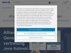 Screenshot von allianz-kalinski.de