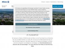 Screenshot von allianz-koblenz.de