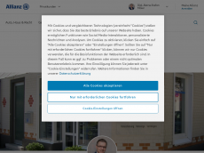 Screenshot von allianz-maier.de