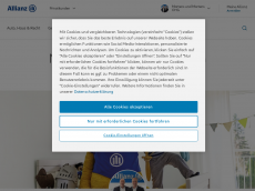 Screenshot der Domain allianz-martens.de