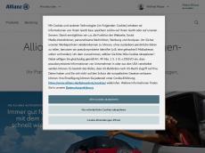 Screenshot der Domain allianz-mayer.de