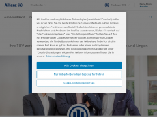 Screenshot der Domain allianz-neubauer.de