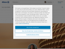 Screenshot der Domain allianz-tobiasbauer.de