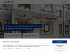 Screenshot der Domain allianzbank-online.de