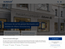 Screenshot von allianzbankonline.de