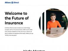Screenshot der Domain allianzdirect.com
