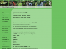 Screenshot der Domain allibert-gartenmoebel.de