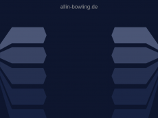 Screenshot der Domain allin-bowling.de