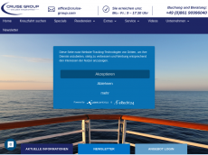 Screenshot der Domain allinclusive-kreuzfahrten.com