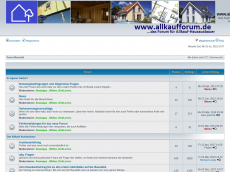 Screenshot der Domain allkaufforum.de