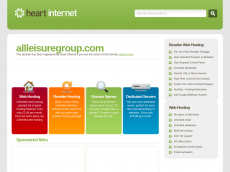 Screenshot der Domain allleisuregroup.com