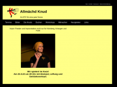 Screenshot der Domain allmaechd-knud.de