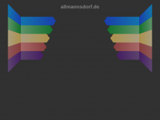 Screenshot der Domain allmannsdorf.de