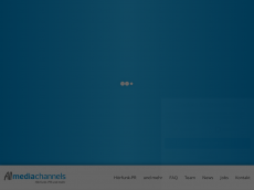 Screenshot der Domain allmediachannels.de
