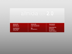 Screenshot der Domain allmidia.de