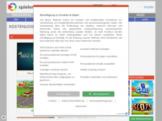 Screenshot der Domain allonga.de