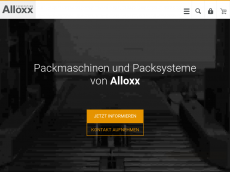 Screenshot der Domain alloxx.de