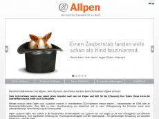 Screenshot von allpen.de