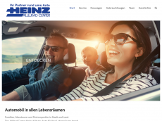 Screenshot der Domain allrad-heinz.de