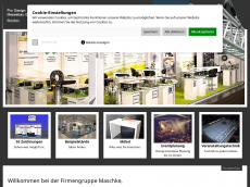 Screenshot der Domain allround-event.de