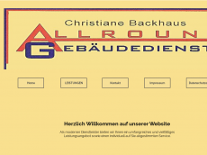 Screenshot der Domain allround-gebaeudedienste.de
