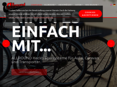 Screenshot der Domain allround-praezisionsteile.de