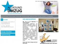 Screenshot von allround-umzugsladen.de