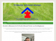 Screenshot der Domain allround-worker.de