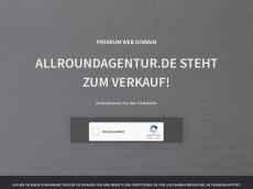 Screenshot von allroundagentur.de