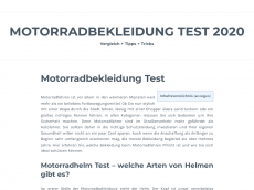 Screenshot der Domain allroundbiker.de