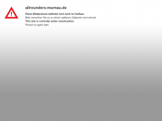Screenshot der Domain allrounders-murnau.de