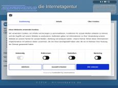 Screenshot der Domain allroundparty.de