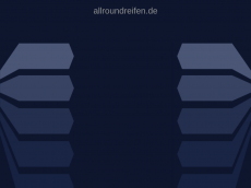 Screenshot der Domain allroundreifen.de