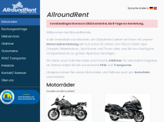 Screenshot der Domain allroundrent.de