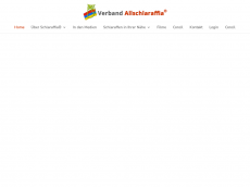 Screenshot der Domain allschlaraffia.com
