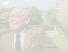 Screenshot der Domain allskin.de