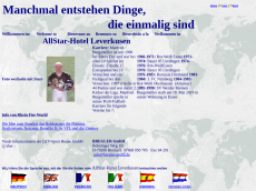 Screenshot der Domain allstar-hotel.de