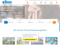 Screenshot der Domain allsun.de