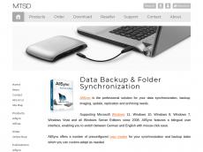 Screenshot von allsync.biz