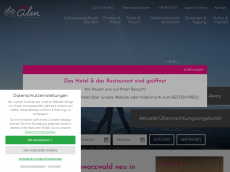 Screenshot der Domain almstueble.de