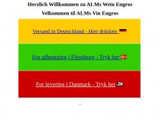 Screenshot der Domain almsweinengros.de